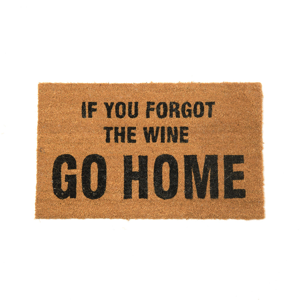 No Wine Doormat