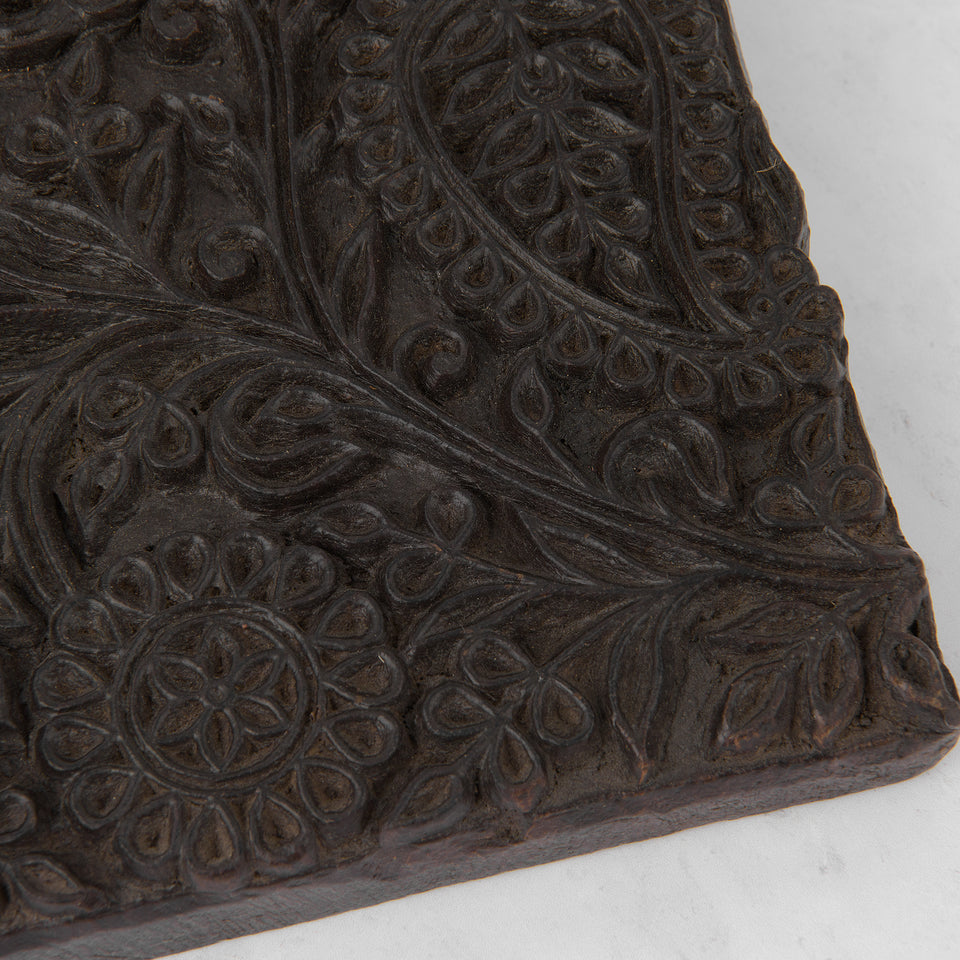 Large Vintage Wooden Printing Block