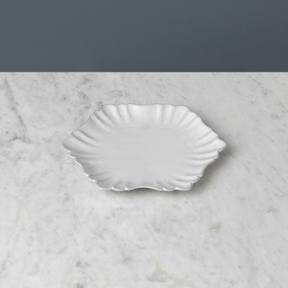 Terracotta Scalloped Plate