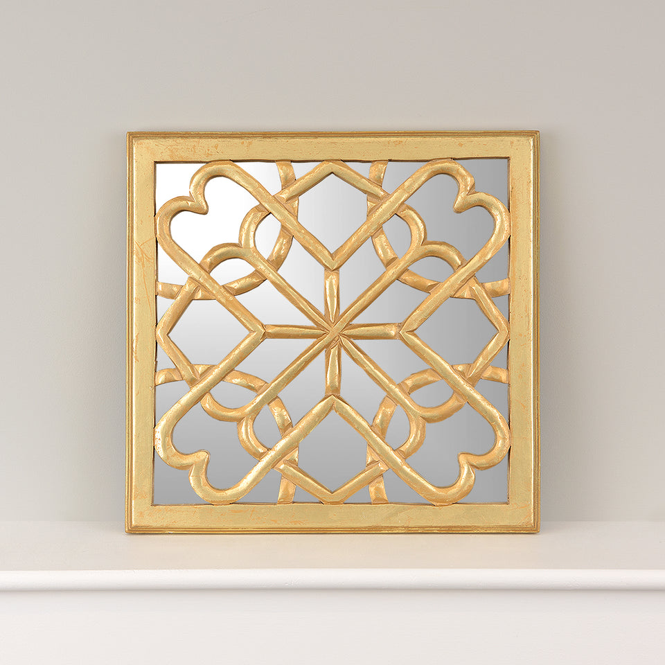 Decorative Square Mirror Wall Panel