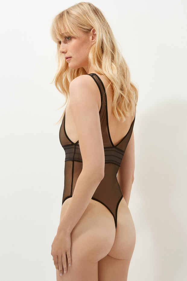 Bare High Leg Bodysuit
