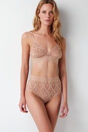 Baroque Triangle Underwire Bra