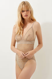 Boomerang Soft High Apex Triangle Cup Bodysuit