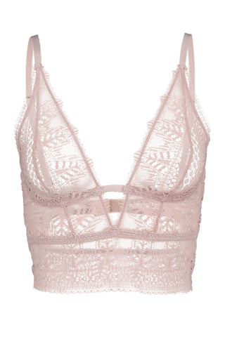 Signature Silk & Lace Underwire Balcony Cut Out Bra