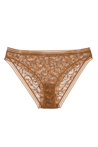 Paisley High Waist Brief