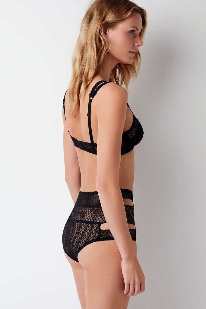 Pointelle Soft Triangle Bra