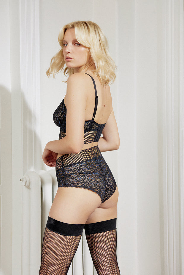 Arya High Waist Cheeky Brief