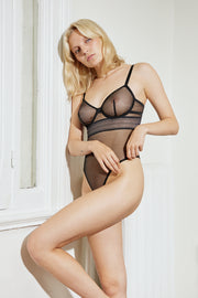 Bare Underwire Bodysuit