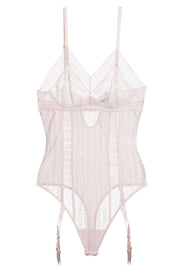 Lolita Bodysuit with Removable Suspenders