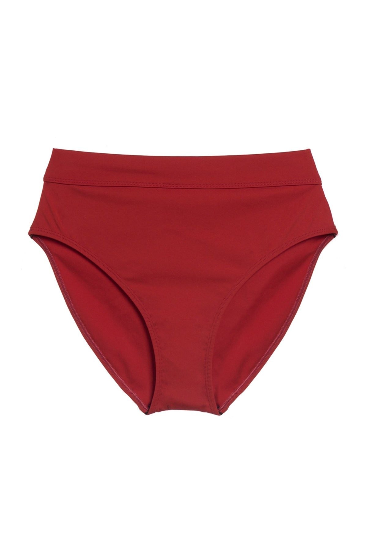 e507ace88edc5 Mare High Waist Bikini Bottom in Paprika | ELSE Lingerie
