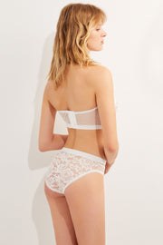 Petunia Bikini Brief in Ivory