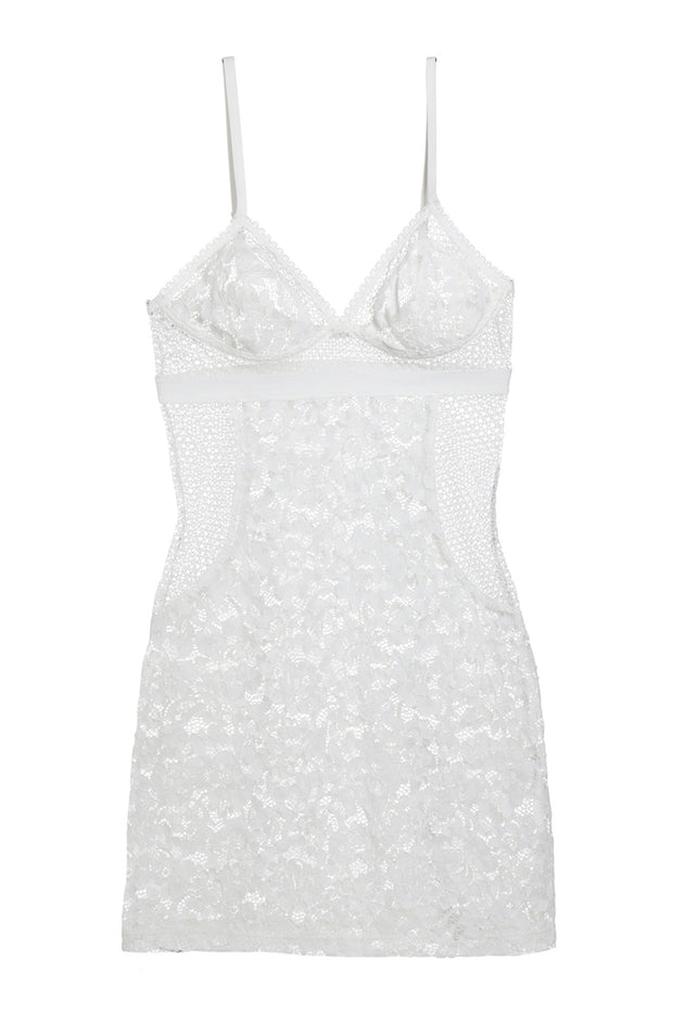 Petunia Soft Triangle Cup Slip Dress in Ivory  779c2a2be
