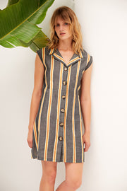 Ponza Sleeveless Relaxed Dress