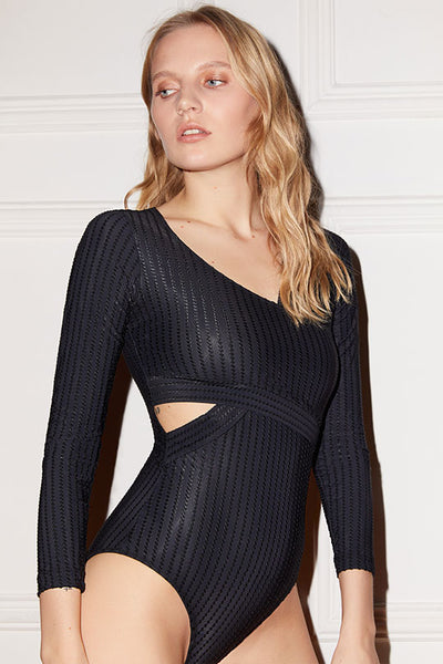 Ziggy Long Sleeve Cut Out Bodysuit