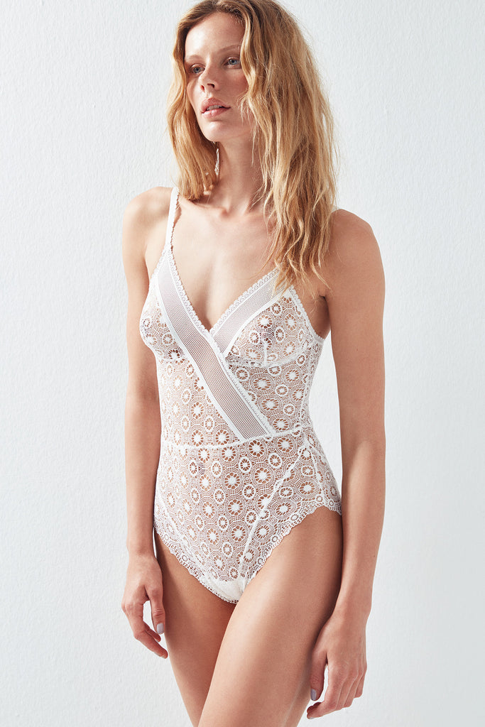 Coachella Triangle Soft Cup Bodysuit