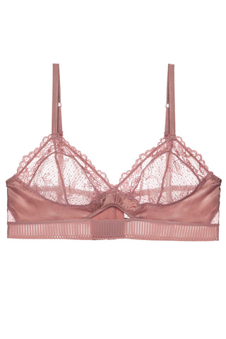 Yasmine Full Coverage Triangle Bandeau Soft Bra