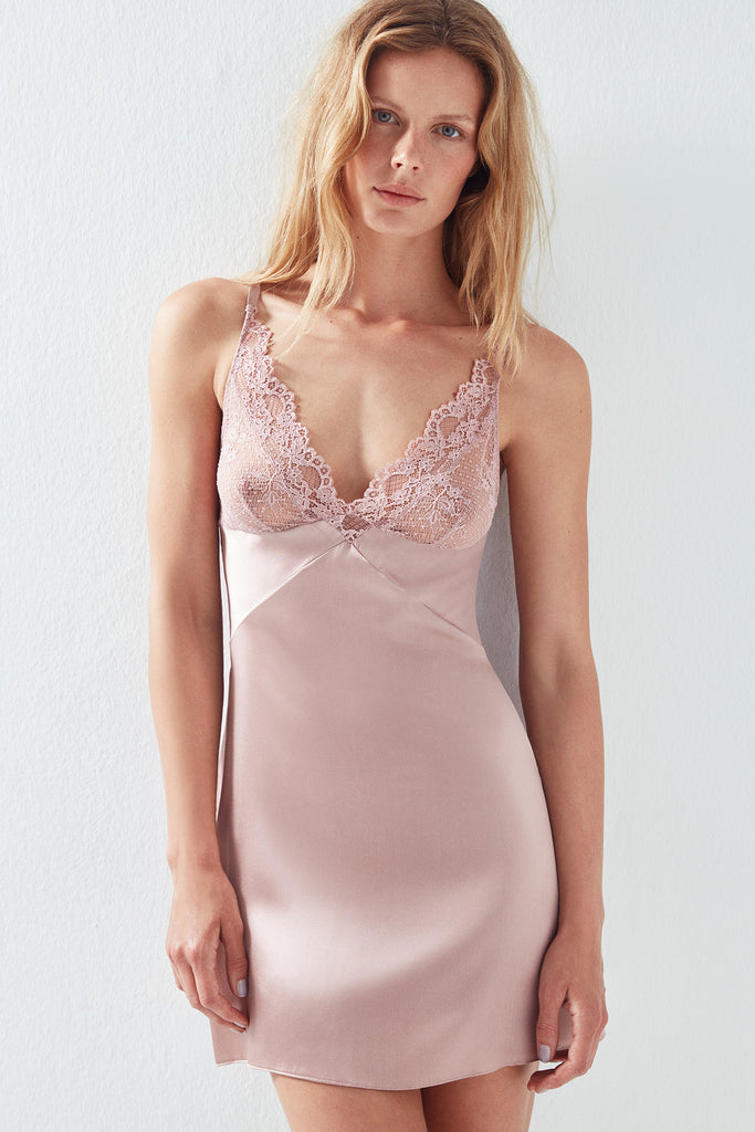 Lilly Soft Cup Silk Chemise