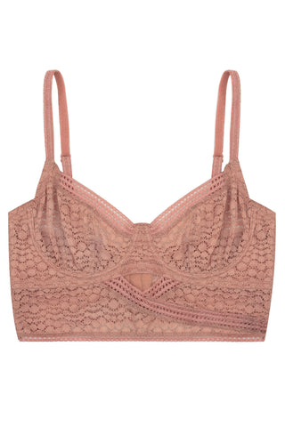 Petunia Underwired Triangle Longline Bra