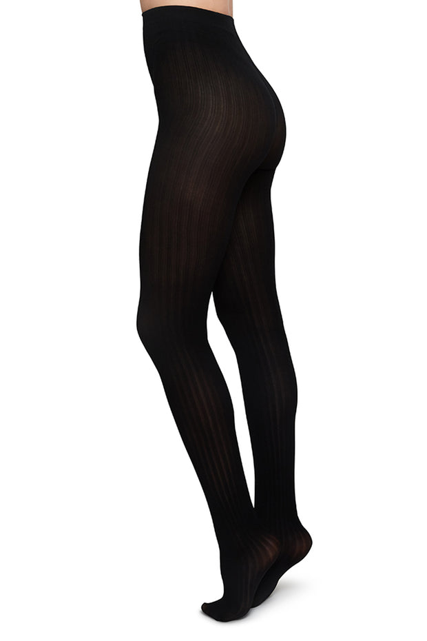 Swedish Stockings - Alma Rib Tights 70 Denier
