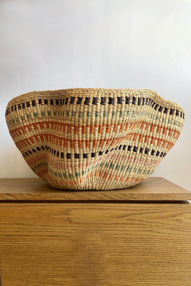 Pakurigo Wave Basket Pastel by Baba Tree