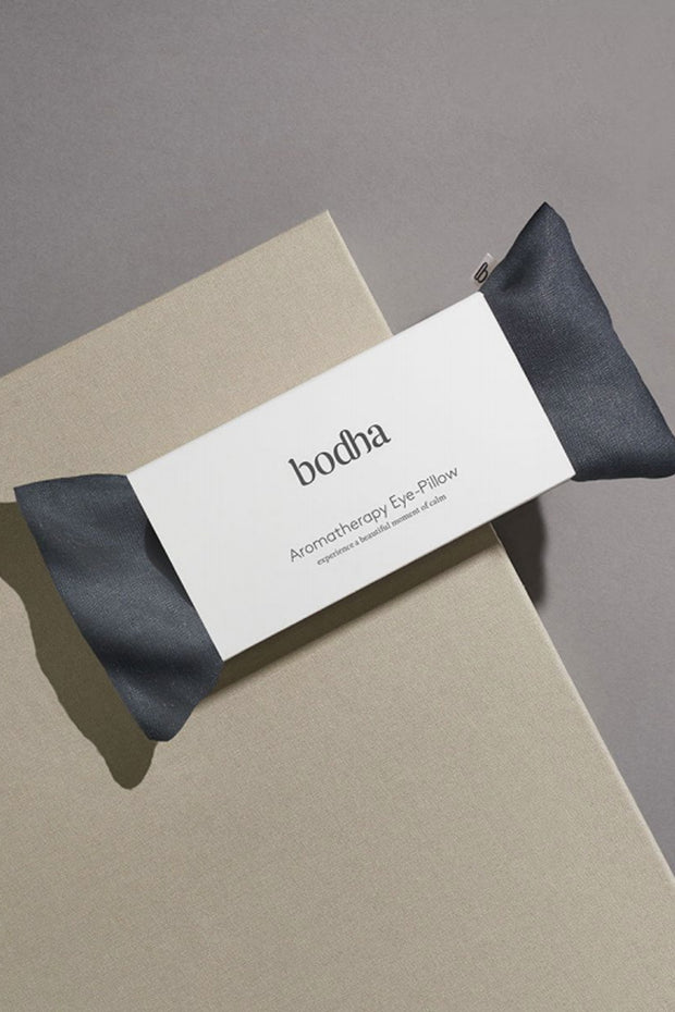 Bodha Aromatherapy Linen Eye-Pillow in Midnight