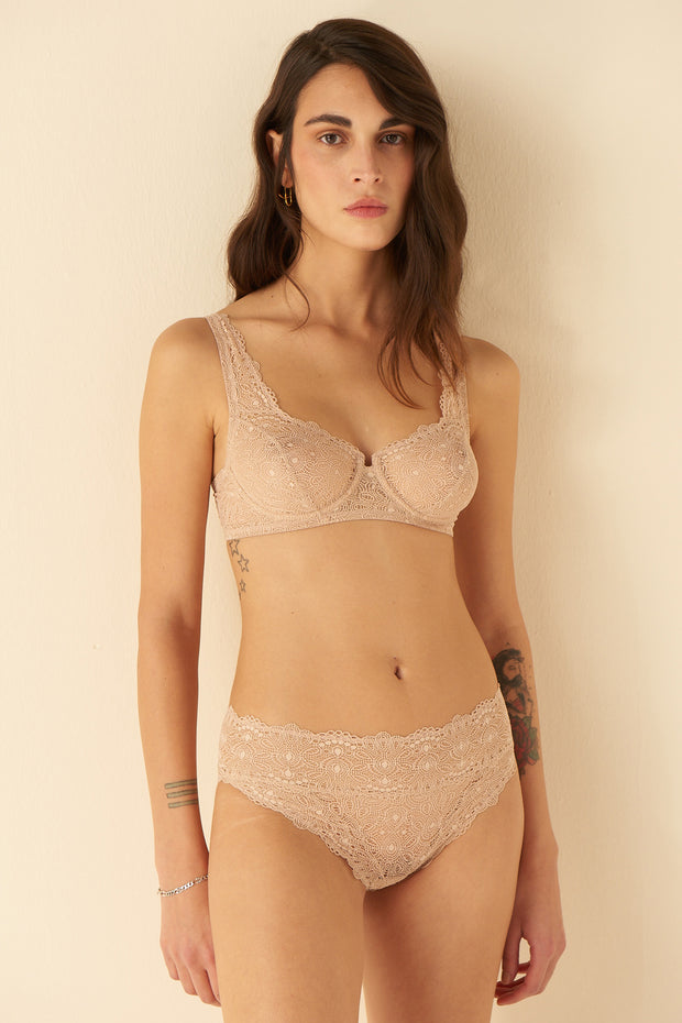Flora Full Cup Underwired Bra