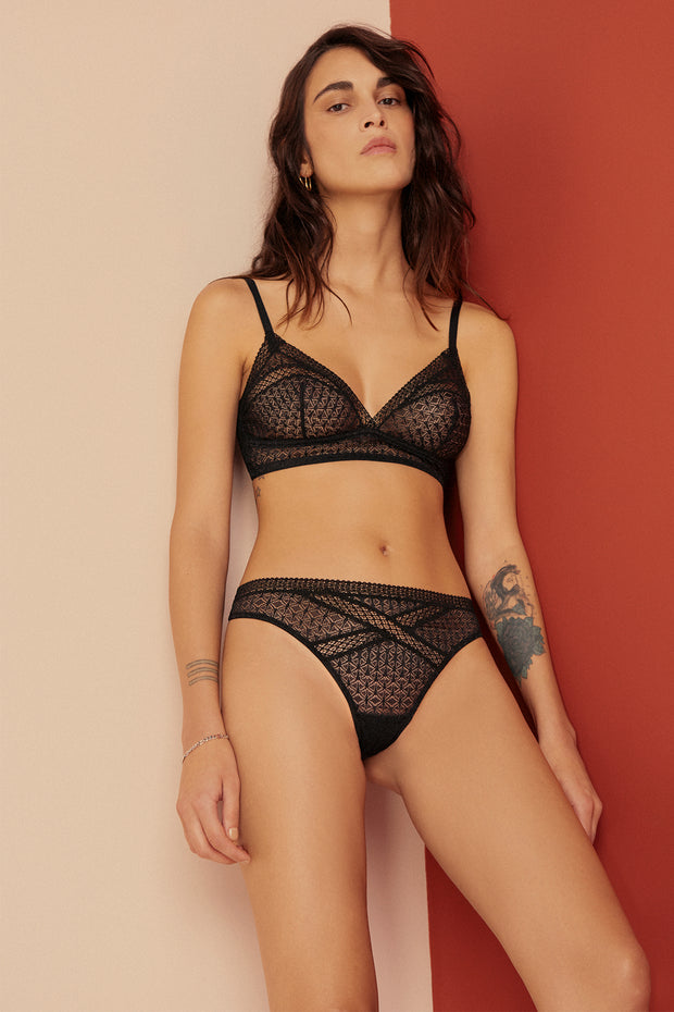 Harper Soft Cup Triangle Bra