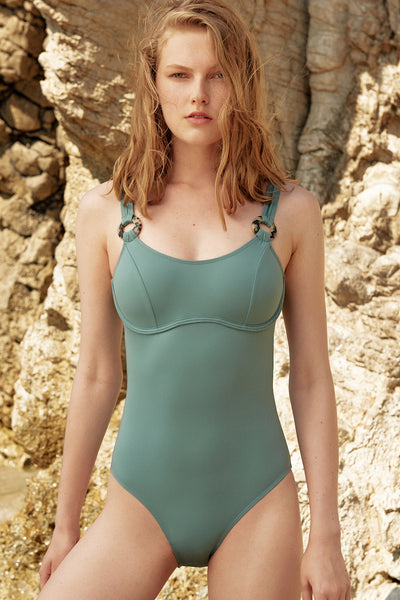 Milos Bandeau Underwired One Piece Suit