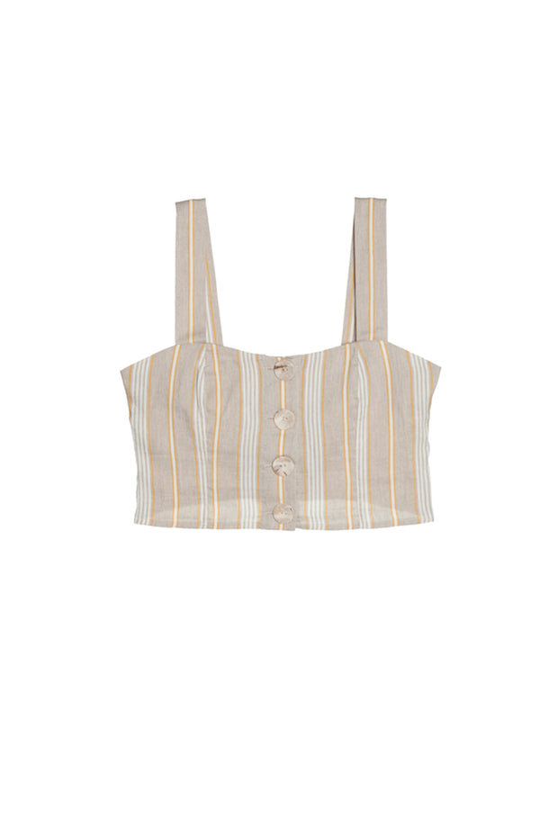 Sorrento Bustier Cropped Top