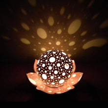 "Load image into Gallery viewer, Candle Holders ""Lotus Flower"" -Candle holders - CozyHomeIdeas"