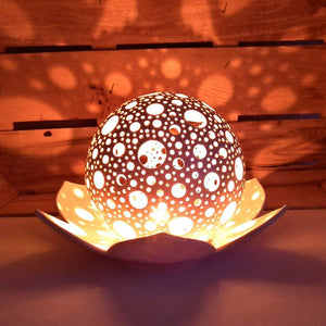 "Candle Holders ""Lotus Flower"" -Candle holders - CozyHomeIdeas"