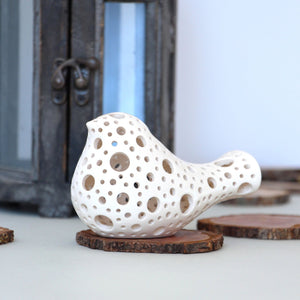 Ceramic Bird Figurine -Ceramic Bird Figurine - CozyHomeIdeas