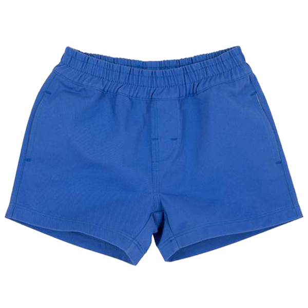 Sheffield Shorts Rockefeller Royal Blue with Multicolor Stork