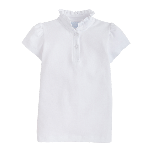 white hastings polo