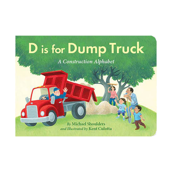 d is for dumptruck board book