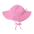 pink brim sun protection hat