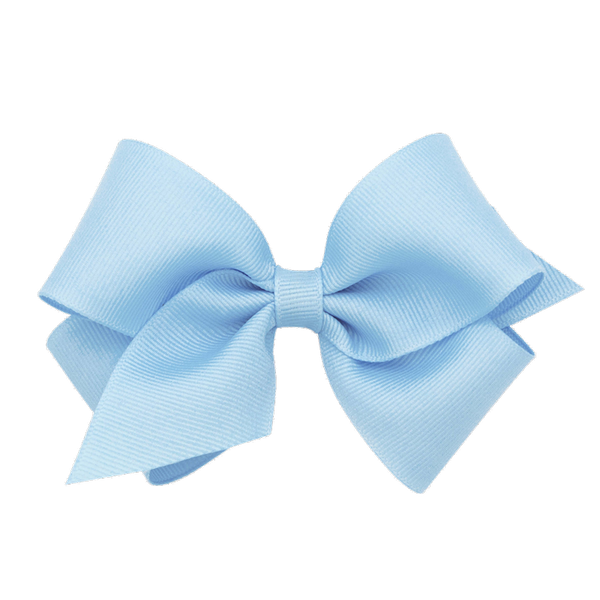 light blue grosgrain bow