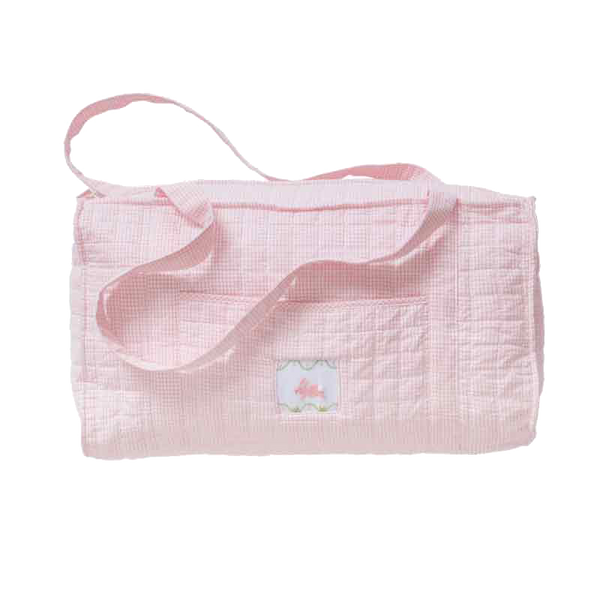 quilted bunny duffle