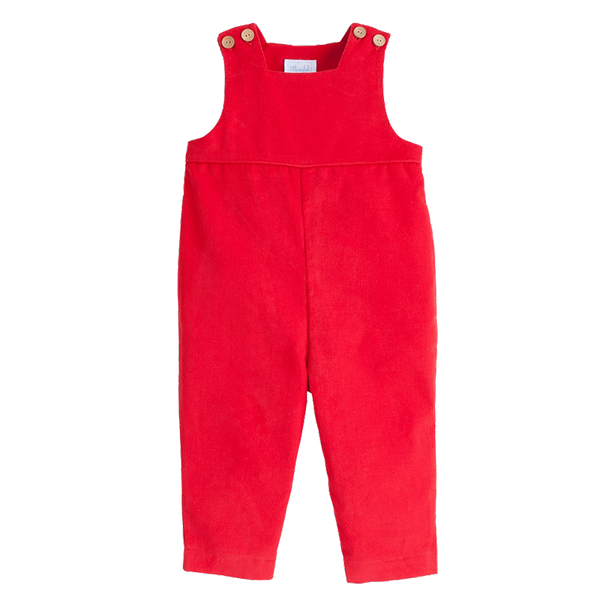 basic overall - red