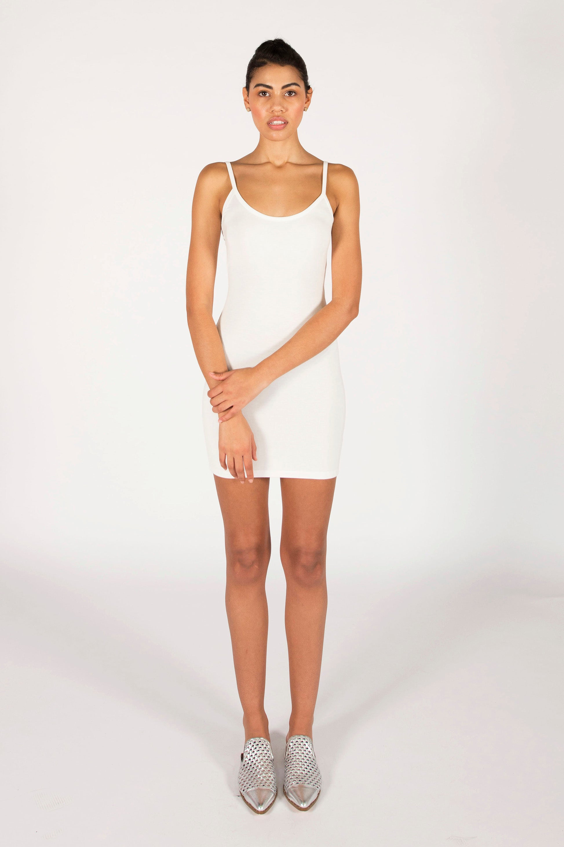 : the ivory LAURA mini dress