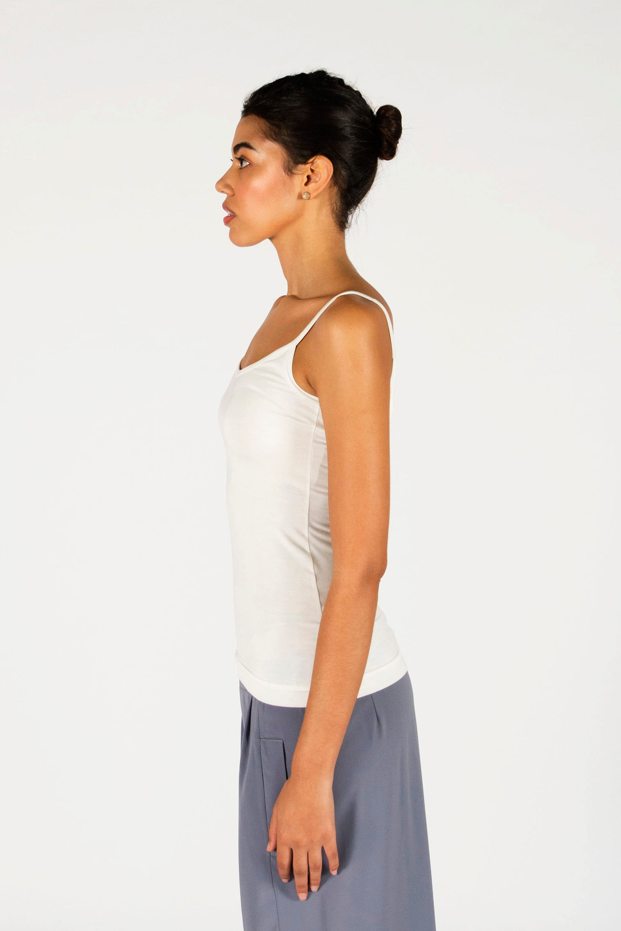 : the ivory LAURA singlet