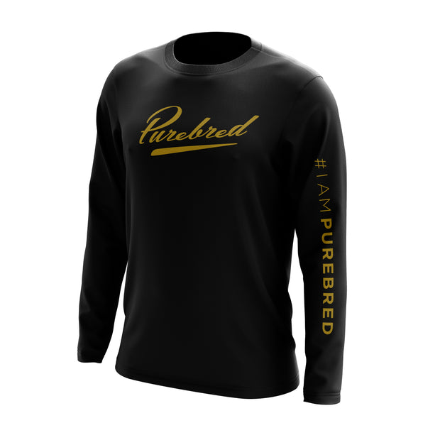 Dry-fit long sleeve - Iampurebred