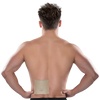 Man using Energeze Back Pain Relief Patch on lower back