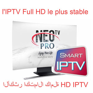Neotv pro  IPTV Subscription arabic europe french italian stream live tv code iptv 1800 channels and 2000 films