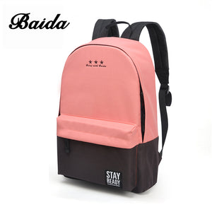 Fashion Backpack Women Leisure Back Pack Korean Ladies Knapsack Casual Travel Bags for School Teenage Girls Classic Bagpack
