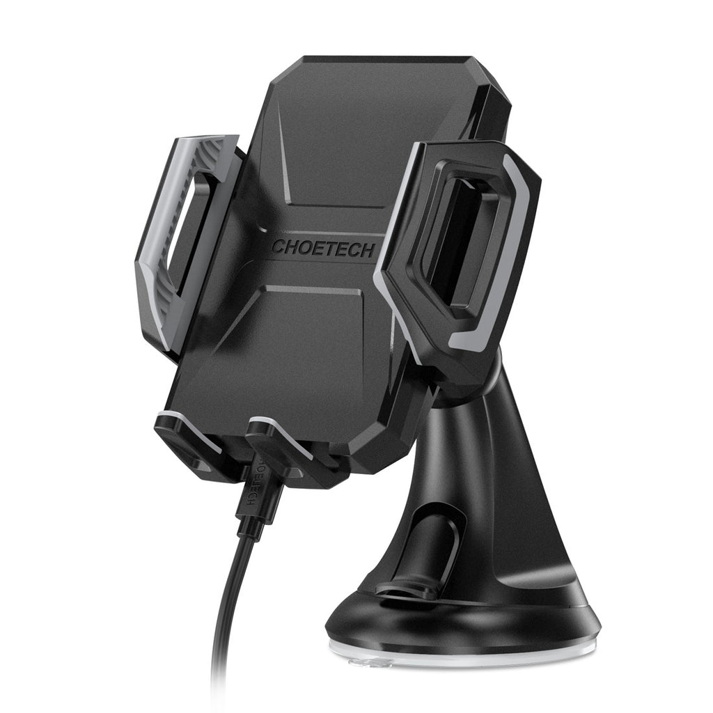 CHOETECH USB Type C 7.5W Wireless Car Charging Mount Stand