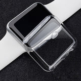 CRESTED Case cover For Apple Watch band 4 42mm 38mm iwatch band 3 44mm/40mm protective screen protector shell watch Accessories