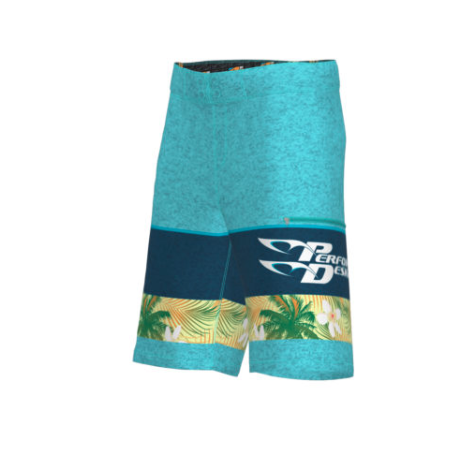 PD Board Shorts - Men's - Teal