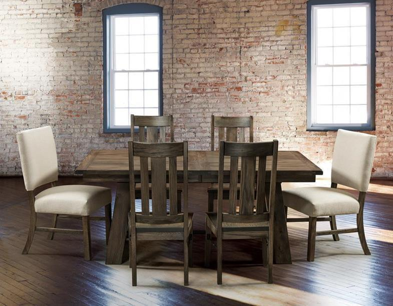 Ouray Table and Ouray Chairs with Trinidad Chairs at Weaver's Furniture in Amish Country Ohio