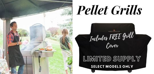 FREE GRILL COVER WITH Purchase, Pellet Grill Bros